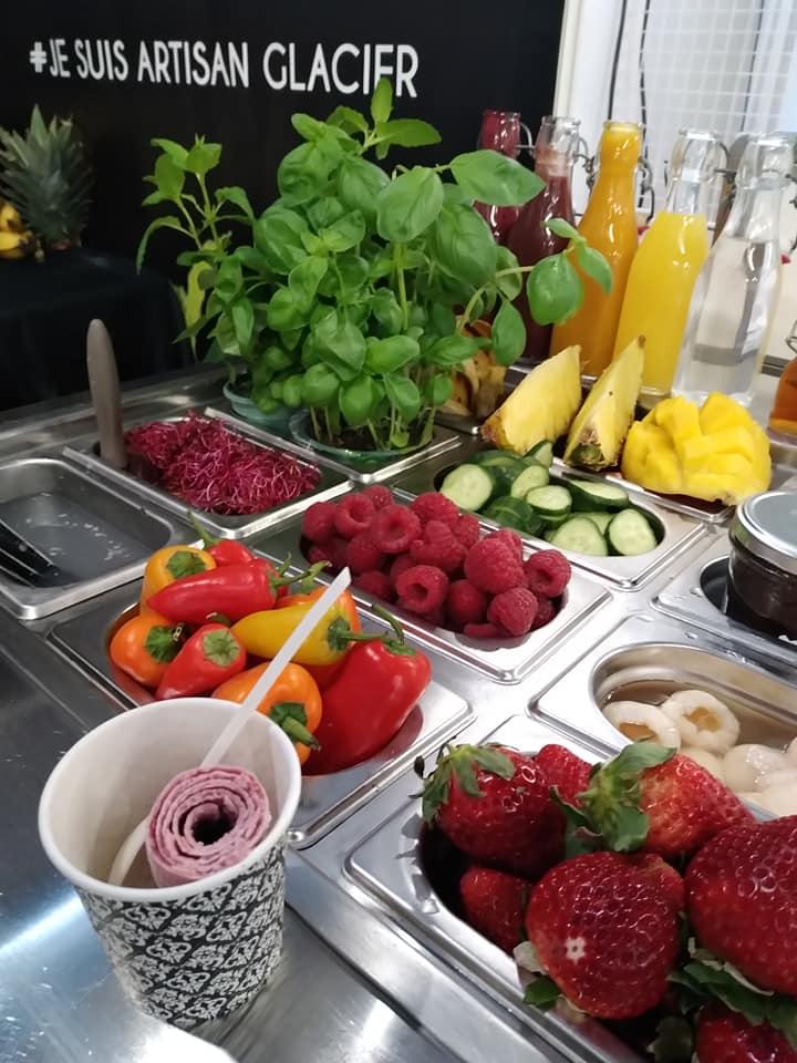 Des fruits frais...
